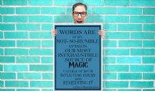 Harry Potter Dumbledore quote Art Pint - Wall Art Print Poster Pick a Size - Quote Art Geekery